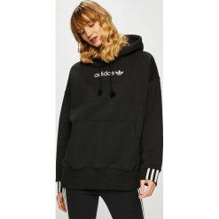 Adidas Originals - Bluza. Czarne bluzy damskie adidas Originals, z bawełny. Za 329.90 zł.