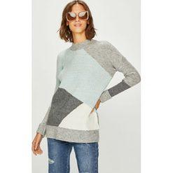 Answear - Sweter. Szare swetry damskie ANSWEAR, z dzianiny. W wyprzedaży za 119.90 zł.