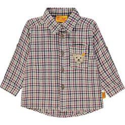 Koszula w kolorze beżowo-czerwono-granatowym. Koszule dla chłopców marki bonprix. W wyprzedaży za 115.95 zł.