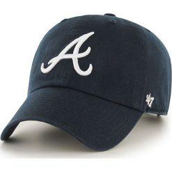 47brand - Czapka Brand Atlanta Braves. Czarne czapki i kapelusze męskie 47brand. W wyprzedaży za 69.90 zł.