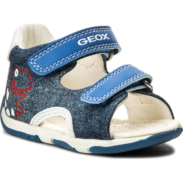 Sports shoes boy GEOX B821NA 01054 B GISLI CK43S ROYAL Size 21