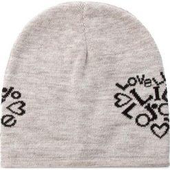Czapka LIU JO - Cuffia Love A67238 M0300  30002 Marmo. Szare czapki i kapelusze damskie Liu Jo, z materiału. W wyprzedaży za 159.00 zł.