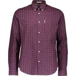 """Koszula """"House"""" - Regular fit - w kolorze niebiesko-czerwonym. Czerwone koszule męskie Ben Sherman, w kratkę, z bawełny, button down. W wyprzedaży za 130.95 zł."""