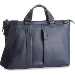 Torba na laptopa PIQUADRO - CA4021P15 Blu 3. Niebieskie torby na laptopa damskie Piquadro, ze skóry. Za 1,009.00 zł.