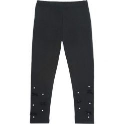 Czarne Legginsy Reminder. Czarne legginsy dla dziewczynek Born2be. Za 29.99 zł.