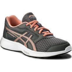 Buty ASICS - Stormer 2 Gs C811N Carbon/Begonia Pink/White 9706. Szare obuwie sportowe damskie Asics, z materiału. W wyprzedaży za 139.00 zł.
