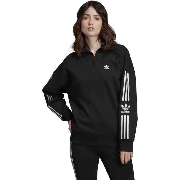 Bluza adidas kapturem przedłużana tunika damska s Zdjęcie