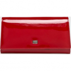 Nobo - Portfel. Czerwone portfele damskie Nobo, z materiału. W wyprzedaży za 189.90 zł.