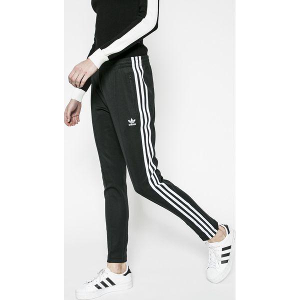 4cdf7bd80b04cb adidas Originals - Spodnie - Czarne legginsy damskie adidas Originals, bez  wzorów, z bawełny. Za 199.90 zł. - Legginsy damskie - Spodnie i legginsy  damskie ...