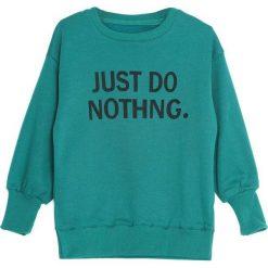Zielona Bluza Subjection. Zielone bluzy dla dziewczynek Born2be. Za 59.99 zł.