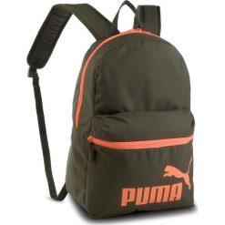 Plecak PUMA - Phase Backpack 075487 05 Forest Night. Zielone plecaki damskie Puma, z materiału, sportowe. Za 89.00 zł.