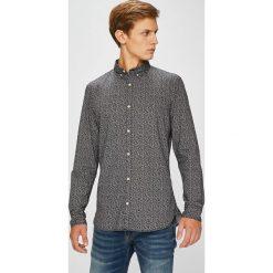 Produkt by Jack & Jones - Koszula. Szare koszule męskie PRODUKT by Jack & Jones, z bawełny, button down, z długim rękawem. W wyprzedaży za 69.90 zł.