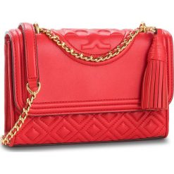Torebka TORY BURCH - Small Convertible Shoulder Bag 43834 Brilliant Red 612. Czerwone torebki do ręki damskie Tory Burch, ze skóry. Za 2,019.00 zł.