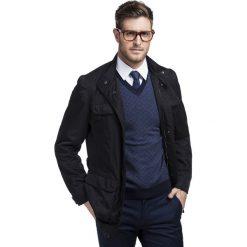 Płaszcz SIMONE 13-04LK. Brązowe płaszcze męskie Giacomo Conti, na jesień. Za 399.00 zł.