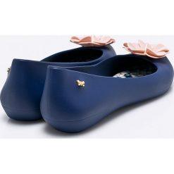Zaxy - Baleriny. Niebieskie baleriny damskie Zaxy, z gumy. W wyprzedaży za 129.90 zł.