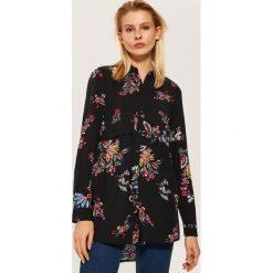 Koszula w kwiaty - Czarny. Czarne koszule damskie House, w kwiaty. Za 79.99 zł.