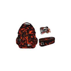 Plecak + saszetka St.Right Lava. Czerwone torby i plecaki dziecięce St-Majewski, z materiału. Za 155.00 zł.