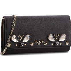 Torebka GUESS - HWVG69 97710 BLA. Czarne torebki do ręki damskie Guess, z tworzywa sztucznego. W wyprzedaży za 279.00 zł.