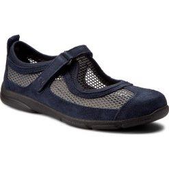 Półbuty ROMIKA - Traveler 02 17202 32 506 Jeans. Niebieskie półbuty damskie Romika, z jeansu. W wyprzedaży za 219.00 zł.