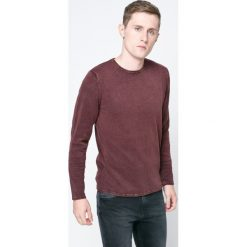Only & Sons - Sweter. Brązowe swetry przez głowę męskie Only & Sons, z bawełny, z okrągłym kołnierzem. W wyprzedaży za 79.90 zł.