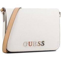 Torebka GUESS - HWBL66 91210  WHI. Białe listonoszki damskie Guess, z aplikacjami, ze skóry ekologicznej. Za 519.00 zł.