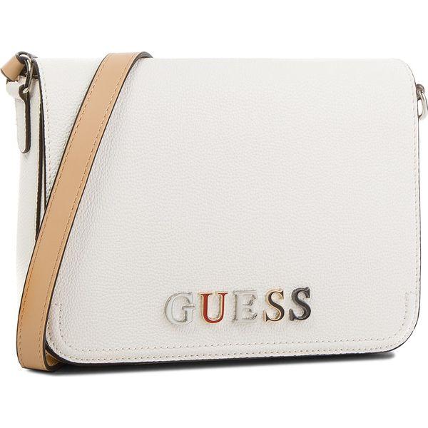 417110312b48a Torebka GUESS - HWBL66 91210 WHI - Białe torebki do ręki damskie marki Guess,  z aplikacjami, ze skóry ekologicznej. Za 519.00 zł. - Torebki do ręki  damskie ...