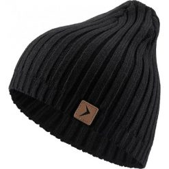Czapka męska CAM604 - głęboka czerń - Outhorn. Czarne czapki i kapelusze męskie Outhorn. Za 24.99 zł.