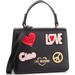 Torebka LOVE MOSCHINO - JC4084PP17LJ0000 Nero. Czarne torebki do ręki damskie Love Moschino, ze skóry ekologicznej. Za 799.00 zł.