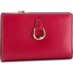 Duży Portfel Damski LAUREN RALPH LAUREN - Bennington 432688521003 Red. Czerwone portfele damskie Lauren Ralph Lauren, ze skóry. Za 439.90 zł.