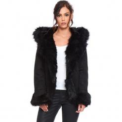 """Kurtka """"Elie"""" w kolorze czarnym. Czarne kurtki damskie Cosy Winter, na zimę. W wyprzedaży za 363.95 zł."""