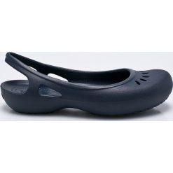 Crocs - Baleriny. Niebieskie baleriny damskie Crocs, z gumy. W wyprzedaży za 99.90 zł.