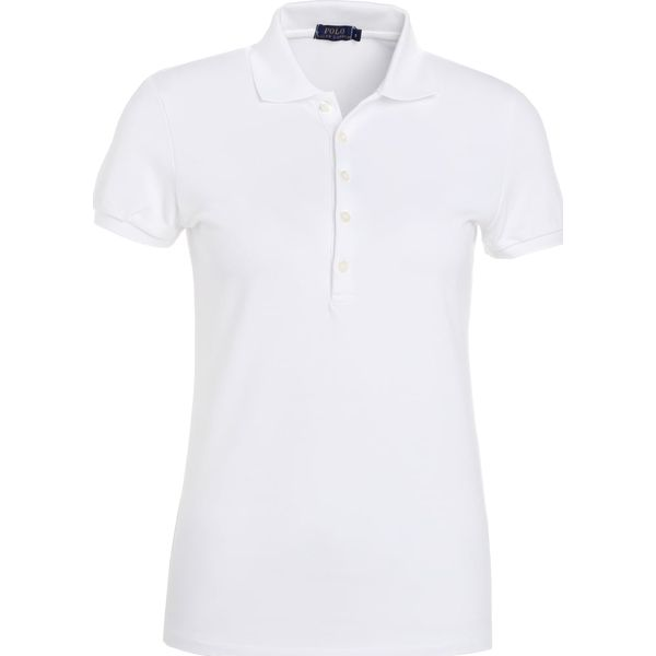 b3e3426c376d47 Polo Ralph Lauren JULIE SHORT SLEEVE Koszulka polo white - Bluzki ...