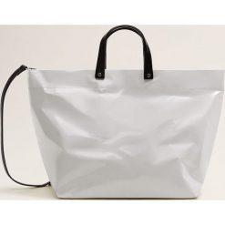 Mango - Torebka Paper. Szare torby na ramię damskie Mango. Za 139.90 zł.