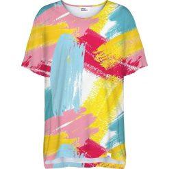 Colour Pleasure Koszulka damska CP-033 275 żółto-niebieska r. uniwersalny. T-shirty damskie Colour Pleasure. Za 76.57 zł.