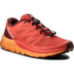 Buty SALOMON - Sense Pro Max 402380 27 W0 Fiery Red/Bright Marigold/Syrah. Czerwone buty sportowe męskie Salomon, z materiału. W wyprzedaży za 419.00 zł.
