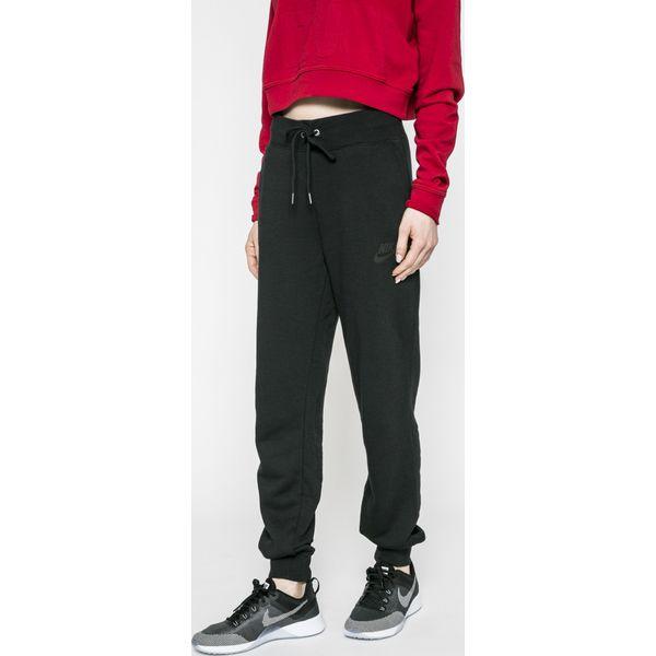 dfa77db03 Nike Sportswear - Spodnie - Czarne spodnie sportowe damskie marki ...