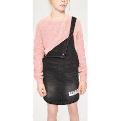 Sweter o grubym splocie - Beżowy. Swetry dla dziewczynek Reserved, ze splotem. W wyprzedaży za 29.99 zł.