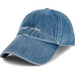 Czapka z daszkiem TOMMY JEANS - Tju Sport Cap Denim AU0AU00489 901. Niebieskie czapki i kapelusze męskie Tommy Jeans. Za 129.00 zł.