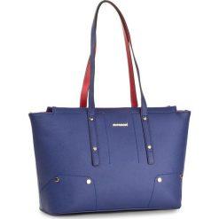 Torebka MONNARI - BAG0870-013 Navy With Red. Niebieskie torebki do ręki damskie Monnari, ze skóry ekologicznej. W wyprzedaży za 139.00 zł.
