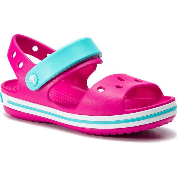 najniższa cena różne kolory najlepsza wartość Sandały CROCS - Crocband Sandal Kids 12856 Candy Pink/Pool