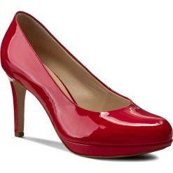 Szpilki HÖGL - 0-128004 Red 4000. Czerwone szpilki damskie HÖGL, z lakierowanej skóry. Za 599.00 zł.