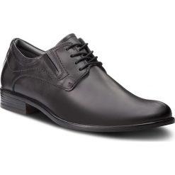 Półbuty LASOCKI FOR MEN - MI07-A585-A445-03 Black. Czarne eleganckie półbuty Lasocki For Men, z materiału. Za 179.99 zł.