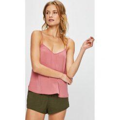 Undiz - Top piżamowy. Różowe piżamy damskie Undiz, z poliesteru. W wyprzedaży za 39.90 zł.
