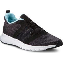 Buty Reebok - Print Lite Rush CN2614 Black/Ash Grey/Blue/Wht. Czarne obuwie sportowe damskie Reebok, z materiału. W wyprzedaży za 209.00 zł.