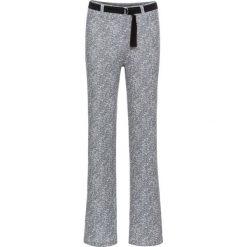 Spodnie bonprix biel wełny - czarny wzorzysty. Spodnie materiałowe damskie marki DOMYOS. Za 49.99 zł.