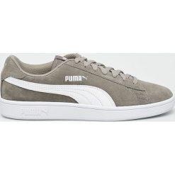 Puma - Buty Smash v2. Szare buty sportowe męskie Puma, z gumy. W wyprzedaży za 219.90 zł.