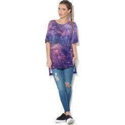 Colour Pleasure Koszulka CP-033  45 fioletowo-granatowa r. uniwersalny. T-shirty damskie Colour Pleasure. Za 76.57 zł.