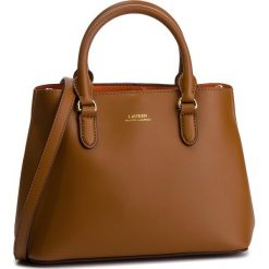 Torebka LAUREN RALPH LAUREN - Dryden 431719699001 Field Brown/Orange. Brązowe torebki do ręki damskie Lauren Ralph Lauren, ze skóry ekologicznej. Za 1,219.90 zł.