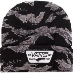 Czapka VANS - Milford Beanie VN000UOUXGS Tiger Camo. Czarne czapki i kapelusze męskie Vans. Za 89.00 zł.