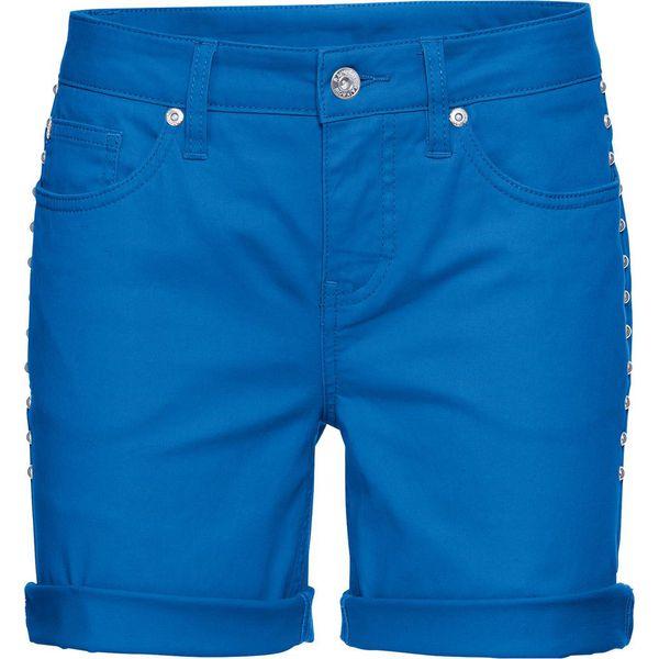 971f73f7c Szorty dżinsowe bonprix niebieski - Szorty damskie marki bonprix. Za ...